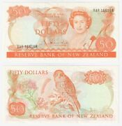 New Zealand 50 Dollar Banknote 1981-85 P.174a - Ef.