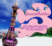 New Mirrored Rich Purple I Dream Of Jeannie/genie Bottle Holiday Special