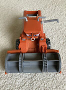 Disney Pixar Cars Chase And Change Frank The Combine Tractor With Clear Bin