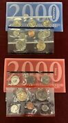 2000 U.s. Mint Set Uncirculated Original Government Packaging Collectible