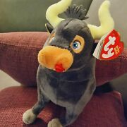 New Ferdinand The Bull Large Plush Soft Toy 7 Inch Ty