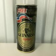 Vintage Guinness 1980s Free Gold Reward Pull Top Beer Can Empty 1988