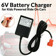 6v Kids Ride On Car Charger For Kid Trax Frozen Disney Minnie Mouse Gmc Princess