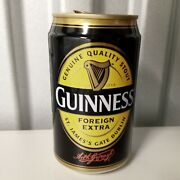 Vintage Guinness 2000s Malaysia Pull Top Beer Can Empty Ireland Irish Guiness