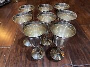 8 Manchester Sterling Silver Water Goblet 808 6 5/8 Tall