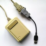 Tinkerboy Apple Lisa Mouse A9m0050 To Usb Converter / Adapter