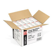 4mil Medical Vinyl Exam Gloves Powder And Latex Free Case Of 1000 Szie Large