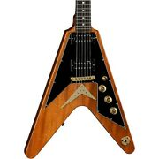 Dean Usa V Standard With Pickguard Electric Guitar Gloss Natural