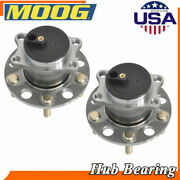 Moog 2 Rear Wheel Hubs And Bearing Assembly For Chrysler Dodge Jeep Patriot