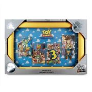 Disney Store Pixar Toy Story 25th Anniversary Pin Set Limited Edition 1600