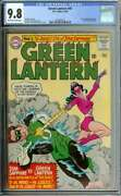 Green Lantern 41 Cgc 9.8 Ow/wh Pages // Star Sapphire App 1965