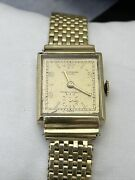 14k Yellow Gold Vintage Manual Cantebury Watch