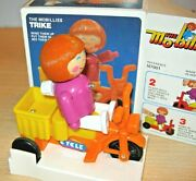 Clockwork Mo-billies Scooter Toy Mib By Golden Rose / Bandai Old