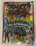 Pokemon Platinum Version Nintendo Ds Official Strategy Guide Book Ad