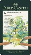 Pack Of 12 Faber Castell Pitt Pastel Pencil Set Point Typefine 4.3mm Leads