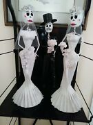Day Of The Dead Paper Mache Bride And Groom