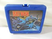 Vintage Batman 1991 Lunchbox By Thermos Lunchbox Only Made In Usa
