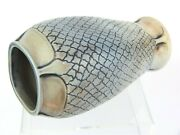 A Wonderful Martin Brothers Arts And Crafts Vase- Skin/ Scale Design.