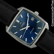 1970and039s Omega Seamaster Compressor Mens Vintage 565 Ss Watch - Mint With Warranty