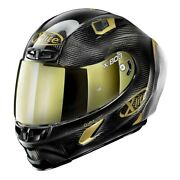 X-lite X-803 Rs Ultra Carbon Golden Edition 033 Motorcycle Helmet - New Fre...