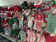 Liquidation/lot - Christmas Clothes/ornaments/lights.decorations/gifts 80off