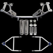 1979-1993 Ford Mustang Upr Tubular K Member And Adjustable A Arm Kit New Look Wow