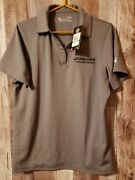 Jerr-dan Embroidered Logo Ladies Under Armour Polo Loose Size Large Gray