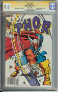 Thor 337 Cgc 9.6 White Pages Newsstand Ss Simonson // 1st Beta Ray Bill 1983