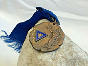 Antq 1911 Hartford Ymca Indoor Sports Badge Medal Pin 7th Prize Indoor Series