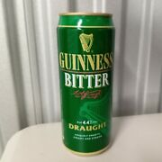 Vintage Guinness Bitter 1990 Pull Top Beer Can Empty Uk