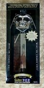 Star Wars Giant Pez Silver Darth Vader Limited Edition New In Box Nice