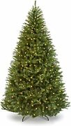 7.5 Ft Artificial Christmas Tree With 3000 Soft White Led Lights