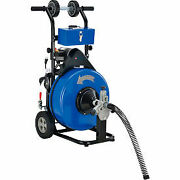 Global Industrial Drain Cleaner For 4-9 Pipe, 200 Rpm, 100' Cable D02-010a - 1