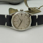 Vintage Rolex Tudor Oyster Elegante Silver Dial Manual Wind Manand039s Watch
