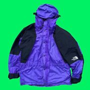 Adult Large Vintage 90s Purple And Black The Snow Shell Jacket - Rare