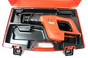 Hilti Wsr 650-a 24v Cordless Reciprocating Saw Tool With Case Only Free Ship