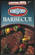 Kingsford Charcoal Grilling 1990 Illustrated Cookbook Outdoor Favorite Recipes