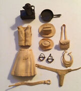 1965 Johnny West Marx Jane West Doll Action Figure- Accessories Only
