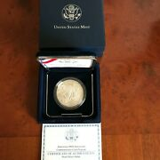 2007 Jamestown 400th Anniversary Commemorative Silver Proof Dollar In Ogp