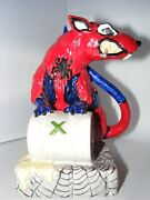Kevin Francis Street Art Collection Toxic Spiderman Rat Banksy Trial Ed 1 Of 1