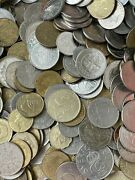 10 Kg Job Lot Of Unsorted Unchecked 10 Kilos Of World Coins Free Postage To Uk