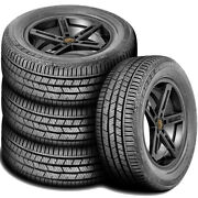 4 New Continental Crosscontact Lx Sport 245/55r19 103h A/s All Season Tires