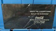 Coca Cola Marble Paper Weight Bottlers Business Conference 1996