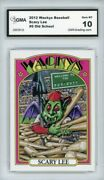 2012 Topps Wacky Packages Os4 Wackys All-stars Scary Lee 5 Gma Graded 10 Gem Mt