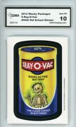 2012 Topps Wacky Packages Os4 X-ray-o-vac Ludlow Sticker Gma Graded 10 Gem Mt