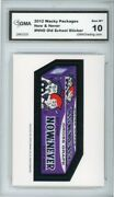 2012 Topps Wacky Packages Os4 Now And Never Ludlow Sticker Gma Graded 10 Gem Mt
