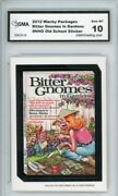 2012 Topps Wacky Packages Os4 Bitter Gnomes Ludlow Sticker Gma Graded 10 Gem Mt