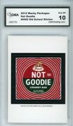 2012 Topps Wacky Packages Os4 Not Goodie Ludlow Sticker Gma Graded 10 Gem Mt