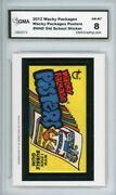 2012 Topps Wacky Packages Old School S4 Posters Ludlow Sticker Gma Grade 8 Nm-mt