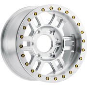 4-17x9.5 Machined Wheel Vision Manx Competition Forged 398 6x6.5 26